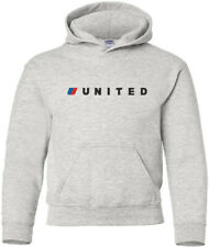 United Airlines Retro US Airline Logo HOODY