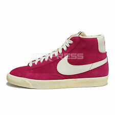 Nike Blazer Hi Suede VNTG [344344-602] NSW Vintage Voltage Cherry/Sail