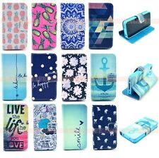 For Apple iphone 4 4s PU Leather Wallet Card Case Holder Flip Stand Cover Pouch