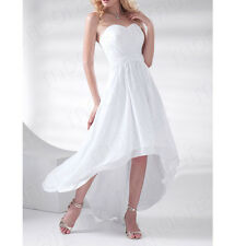 HOT Prom Gowns Ball Wedding Bridesmaid Evening Party Cocktail Asymmetrical Dress