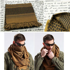 Stock New Brown Arab Shemagh Keffiyeh Palestine Scarf Shawl Kafiya Wrap Scarves