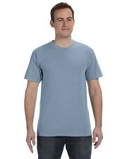 NEW Authentic Pigment T-Shirt Tee Men's Short Sleeve 5.6 oz Dyed Ringspun 1969