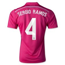 Real Madrid 4 - SERGIO RAMOS Away Soccer