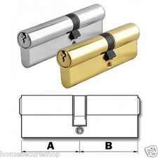 Euro Cylinder Locks Door Barrel Anti Drill, Pick, Bump - uPVC, Patio (TRCYL)