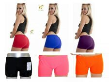 Womens Girls  Hot Pants for Pole Dancing Dance Gym Yoga Black Pink Red
