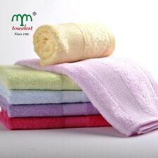 "High Quality Bamboo Towels Solid Hand Satins Towel Face Washcloths 13""*30"" New"