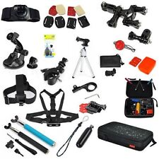 GoPro Chest Handle Monopod Waterproof Carry Bag GoPro HD Hero 12 3 Accessories