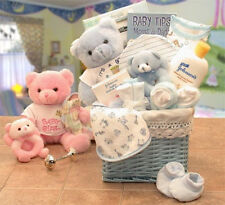 Sweet Baby of Mine New Baby Basket Available in Girl/Pink and Boy/Blue