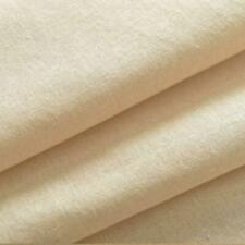 100% COTTON NATURAL COLOURED CALICO EXTRA WIDE 63 INCH CRAFT LINING DRAPE FABRIC