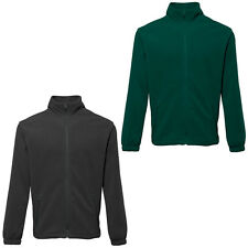 2786 Mens Long Sleeved Collared Zip Up Sports Comfort Fleece Jacket Size S-3XL