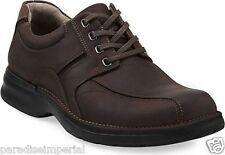 CLARKS NORTHFIELD MENS BROWN NUBUCK LACE UP STYLE # 33985