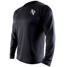 Hayabusa Kunren Training Shirt (Black) - mma gym bjj