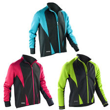 New Spiro Mens Long Sleeve Zip Up Softshell Sporty Freedom Jacket Top Size XS-XL