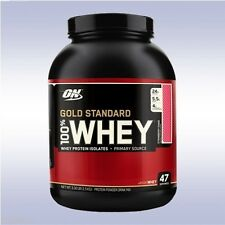 OPTIMUM NUTRITION GOLD STANDARD 100% WHEY (3.3 LBS / 48 SVGS) protein powder on