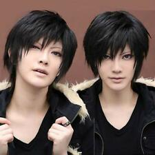 Hot Anime Handsome Boys Short Wig Vogue Sexy Men's Male Hair Cosplay Wigs 3Color