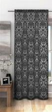 Victoria Damask Pattern Voile Net Curtain Panel ***FREE P&P***
