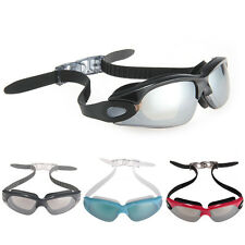New Unisex Swimming Goggles Eyewear Glasses Anti-Fog UV 180-degree Protective