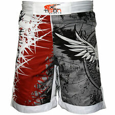 MMA Fight Shorts Grappling Short Kick Boxing Cage Fighting Shorts UFC Gym Gloves
