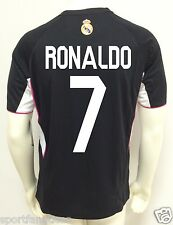 REAL MADRID RONALDO  # 7 Jersey Soccer ADULT Training HOME 2014-15 NEW  LICENSE