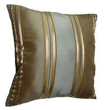 "SALE - 24""x24"" Wide Stripes Decorative Throw Pillow Covers"