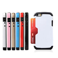2 in 1 ShockProof Wallet Cash Credit Card Cover Wallet Case for iPhone 5 5G 5S