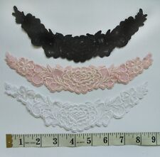 Venise Floral Lace Collar Appliques-Color Choice-SA165