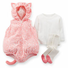 Carters newborn 3 6 9 12 18 24 Months Kitty Halloween Costume Baby Girl Outfit