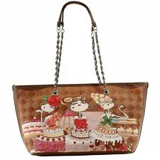 Love Moschino Women's Medium Sweet Printed Satchel Handbag
