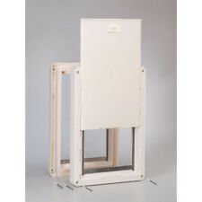 Ideal *RUFF WEATHER* Pet Dog Insulated Door Dual 2 Flaps----**ALL SIZES**