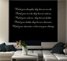 OUR DESTINY WALL ART LIVING ROOM QUOTE PHRASE STICKER VINYL DECAL MURAL TATTOO