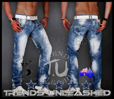 "ALL SIZES AVAILABLE New Kosmo Lupo Mens Jeans SIZE 34  Mens x "" Jeans Australia"