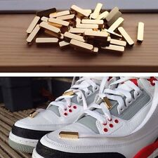AIR YEEZY STYLE LACE TIPS AGLETS GOLD, BLACK NICKEL, SILVER BEST QUALITY ON EBAY