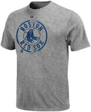 Boston Red Sox MLB Dramatic Struggle Gray Tee Shirt Men Big And Tall Sizes