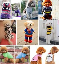 Pet Puppy Dog Cat Pet Clothes Costume Coat T-Shirt Hoodie Sweater Pullover Party