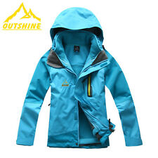 Kid's 3in1 Soft Shell Fleece Jackets Waterproof Windproof Ski Snowboard Outdoor