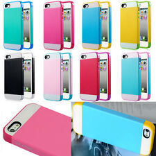 Hybrid Soft Silicone + PC Cases Cover GEL Skin Phone Case For iPhone 6 / 6 Plus