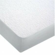Wet-Guard Bed Bug Mite Proof Terry Waterproof Bed Fitted  White Mattress Cover