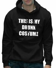 This is my Drunk Costume Funny Fancy Dress Party Halloween Hoodie