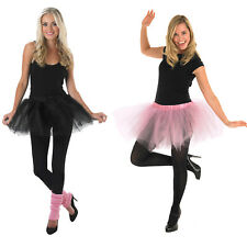 Womens Tutu Rubies New Ballet Mesh Dance Fancy Dress Costume Skirt Adult Outfit