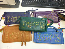 Pauls Boutique I Love PB Various Cololurs Gold Studded Purse NEW!! RRP £40!!!