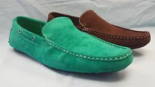 MEN GIOVANNI DRESS LOAFER FASHION ITALIAN SOLID SLIP-ON MEDIUM(D,M) SUEDE CASUAL