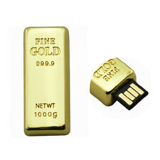 GOLD 999 Style 8GB 16GB 32GB High Speed USB 2.0 Flash Drive Pen Memory Stick Pen