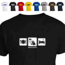 Paranormal Ghost Hunter Emf Gift T Shirt Investigate Daily Cycle 011