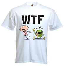 WTF T-SHIRT - What The F**k Funny Text Language Facebook Twitter - Sizes S-XXXL