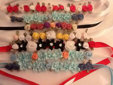 Bun Flower Garland - Ballet Dance Skating Gymnastic Hair Accessory