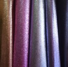 *SAMPLE* Large Glitter Flake Fabric Wallpaper Black, Gold, Pink, Silver & Grey.