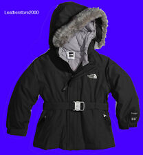 Kids The North Face GIRLS GREENLAND JACKET 550 GOOSE FILL BLACK Size XS S M L XL