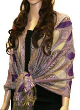 Colorful Paisley Pashmina  thick Scarf Shawl Wrap Buy 5 Get 1 for Free 18 colors