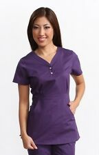 NWT Women's Koi Justine Amethyst/Deep Purple Scrub Top