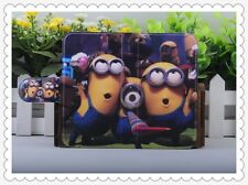 hot Colourful Funny Despicable me PU LEATHER FLIP Case COVER for SONY Xperia